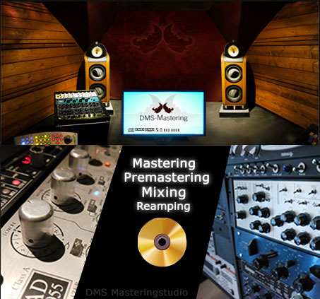 mastering, premastering and onlinemastering service
